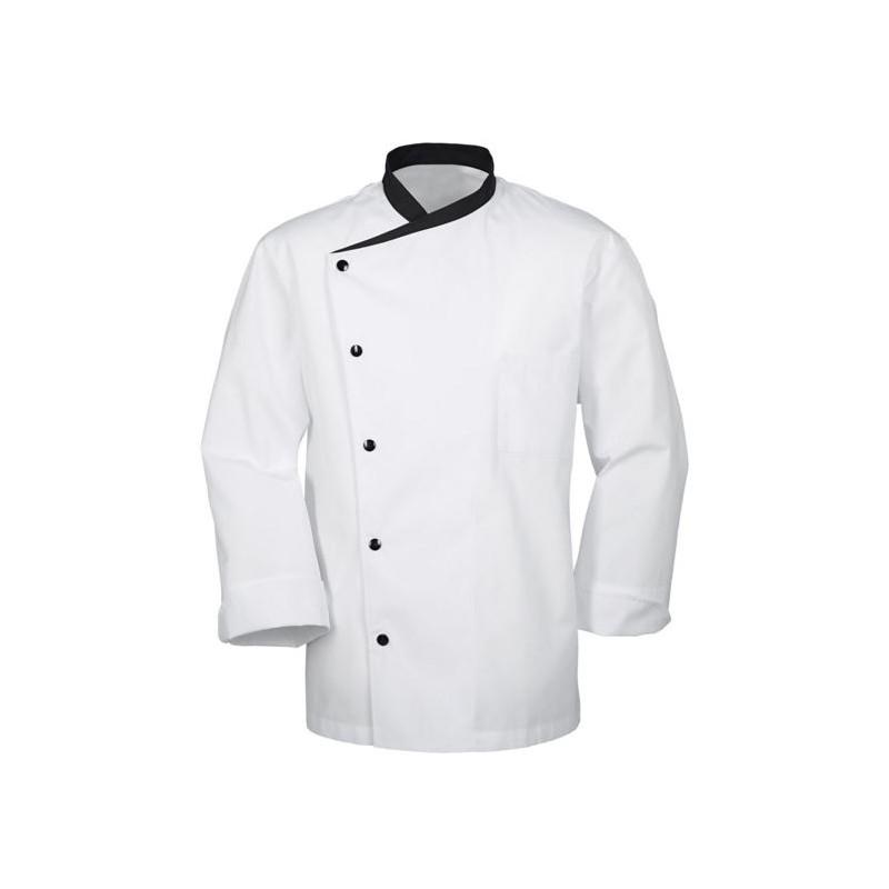 Veste de cuisine homme manches longues bragard julioso - Veste cuisine homme personnalise ...