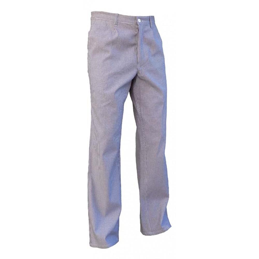 Pantalon de cuisine homme pied de poule 15ae for Pantalon de cuisine homme