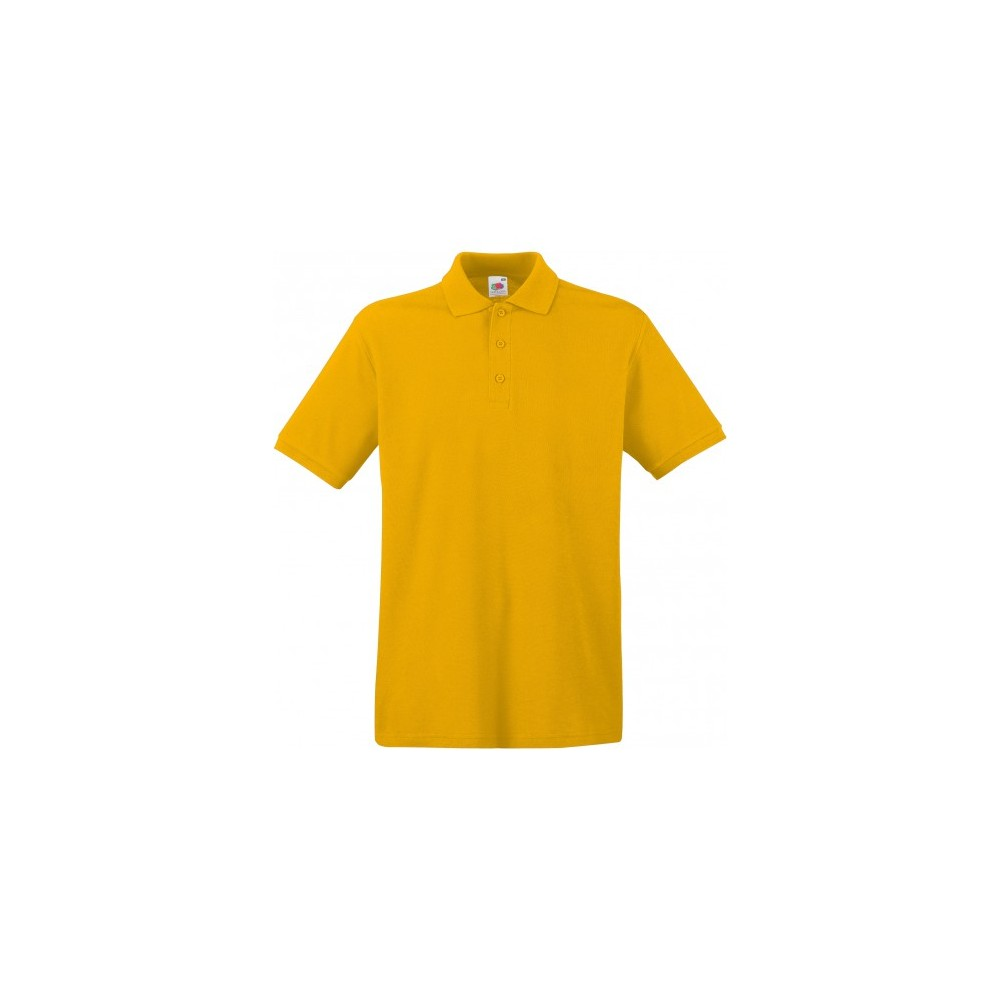 Fruit of the Loom Prime Polo tournesol L