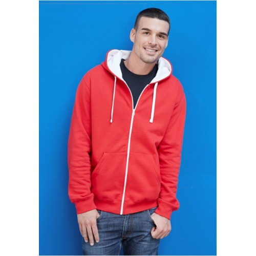 SWEAT-SHIRT ZIPPES CAPUCHE HOMME KARIBAN : K466
