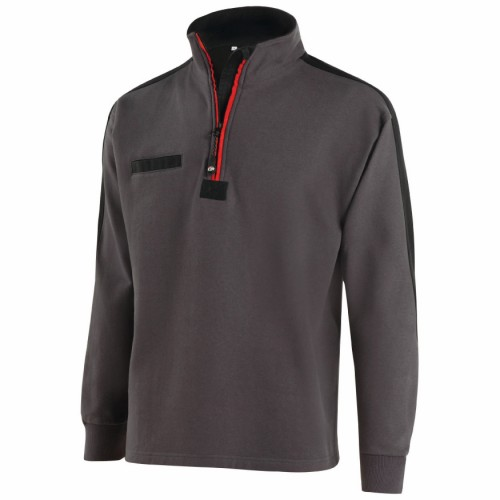 SWEAT SHIRT COL ZIPPE MOLINEL : GAMEX