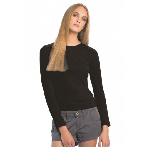 TEE-SHIRT MANCHES LONGUES FEMME B&C : ONLY