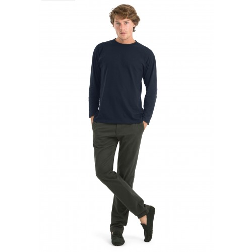 TEE-SHIRT EXACT 150 MANCHES LONGUES HOMME B&C