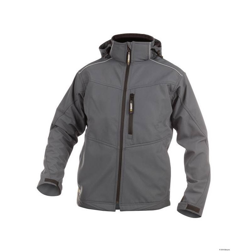 TAVIRA veste de travail chaude softshell doublée polaire