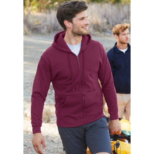 SWEAT-SHIRT ZIPPE CAPUCHE CLASSIC HOMME FRUIT OF THE LOOM