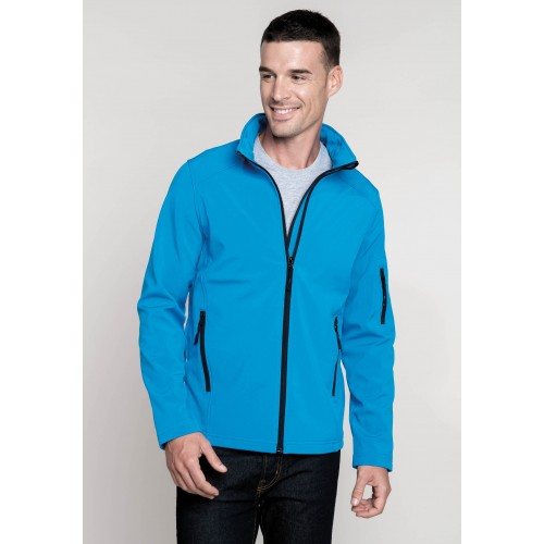 VESTE SOFTSHELL 3 COUCHES HOMME KARIBAN