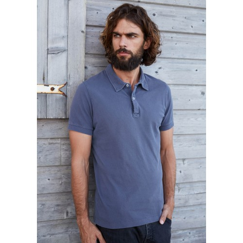 POLO VINTAGE MANCHES COURTES HOMME KARIBAN